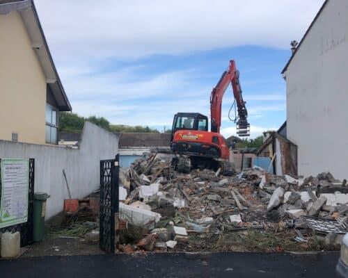 Demolition dune Habitation sur Bordeaux Bastide 4