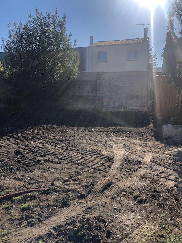 Demolition dun Garage et Murette a Cauderan 3