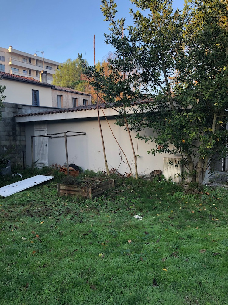 Demolition dun Garage et Murette a Cauderan 5