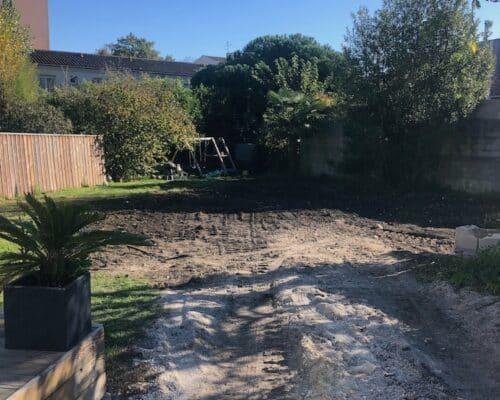 Demolition dun Garage et Murette a Cauderan 6